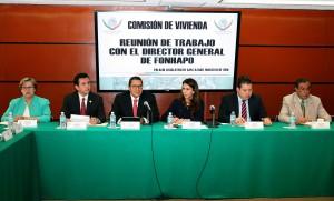 REUNION DE TRABAJO EN LA CAMARA DE DIPUTADOS CON LA COMISION DE VIVIENDA 1