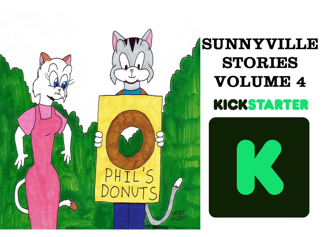 Sunnyville Stories Volume 4 Kickstarter