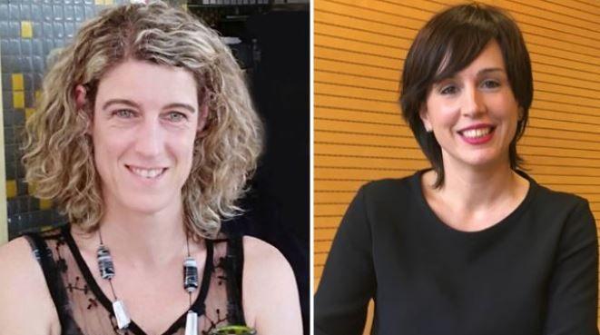 Laura Arzoz, y Ana Goyén, ganadoras de los XXI Premios Empresaria y Directiva Navarra 2018 convocados por AMEDNA