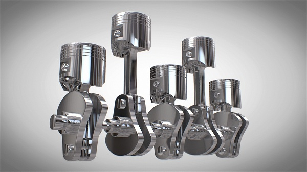 Piston Market by Material Type, Piston Type, Piston Coatings, and Vehicle Type: Global Opportunity Analysis and Industry Forecast