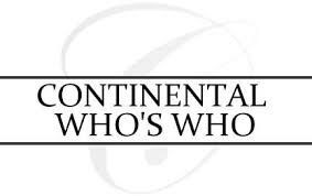 Charles Olson is recognized by Continental Who's Who