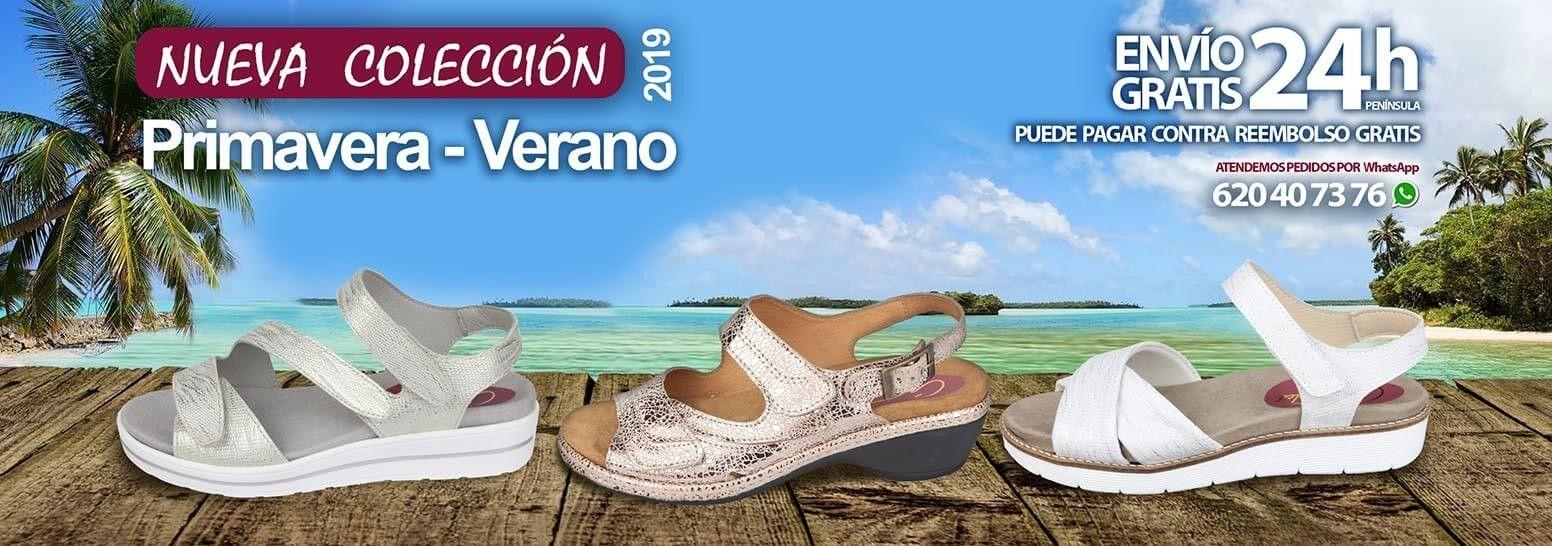 Nueva temporada primavera verano Cari Falcó, zapatos para plantillas y anchos especiales