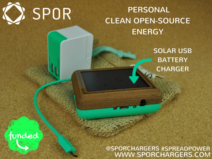 SPOR: Solar Battery Chargers, USB Cables & Accessories