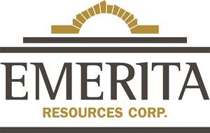 Emerita Resources Provides Update on Financing