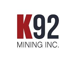 K92 Mining Inc. Announces $18,000,600 Bought Deal Financing