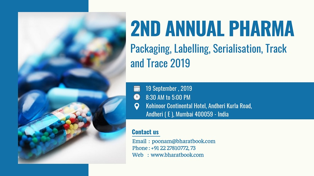 2nd Annual Pharma Packaging, Labelling, Serialisation, Track and Trace 2019