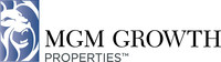 MGM Growth Properties LLC Announces Closing Of Upsized Public Offering Of Class A Shares