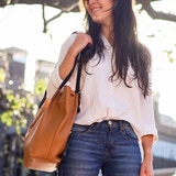 CHELA Convertible Bag: a chic bag full of features Handcrafted in Argentina with high quality leather, CHELA converts from a beautiful tote into a stylish backpack is seconds