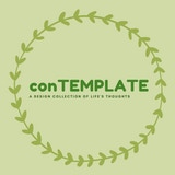 conTEMPLATE: A design collection of life's thoughts A book of self-care card templates