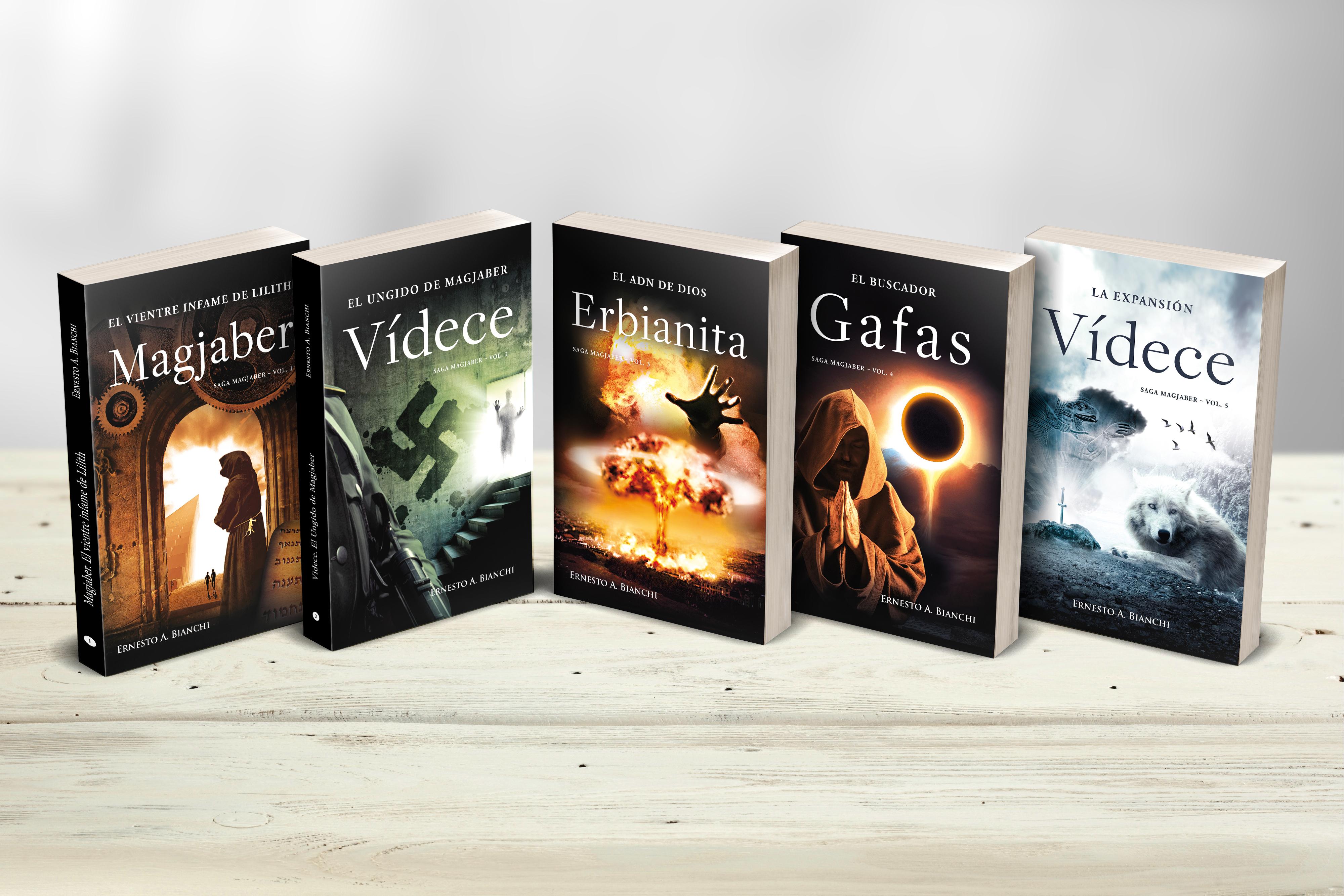5 libros de Ernesto Bianchi 1