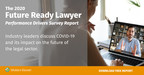 2020 Wolters Kluwer Future Ready Lawyer: Performance Drivers and Change in the Legal Sector