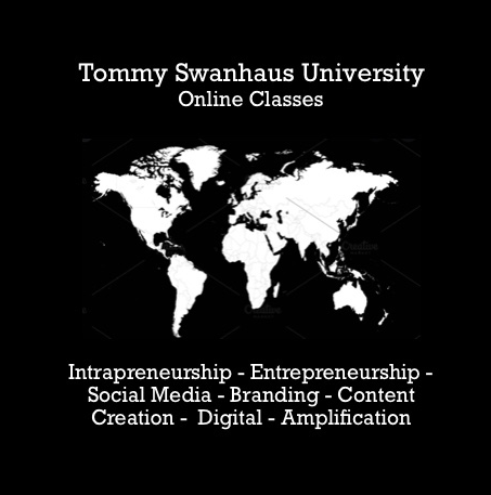 Tommy Swanhaus University Front Logo