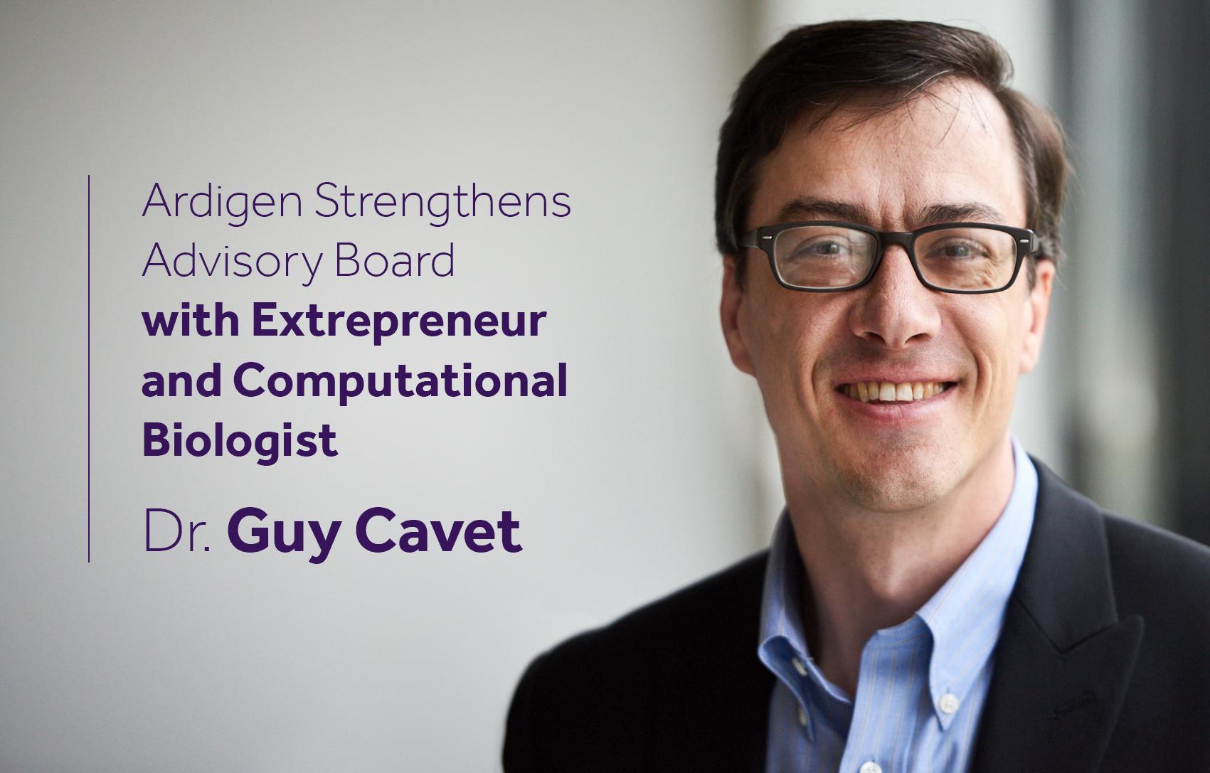 Ardigen Guy Cavet