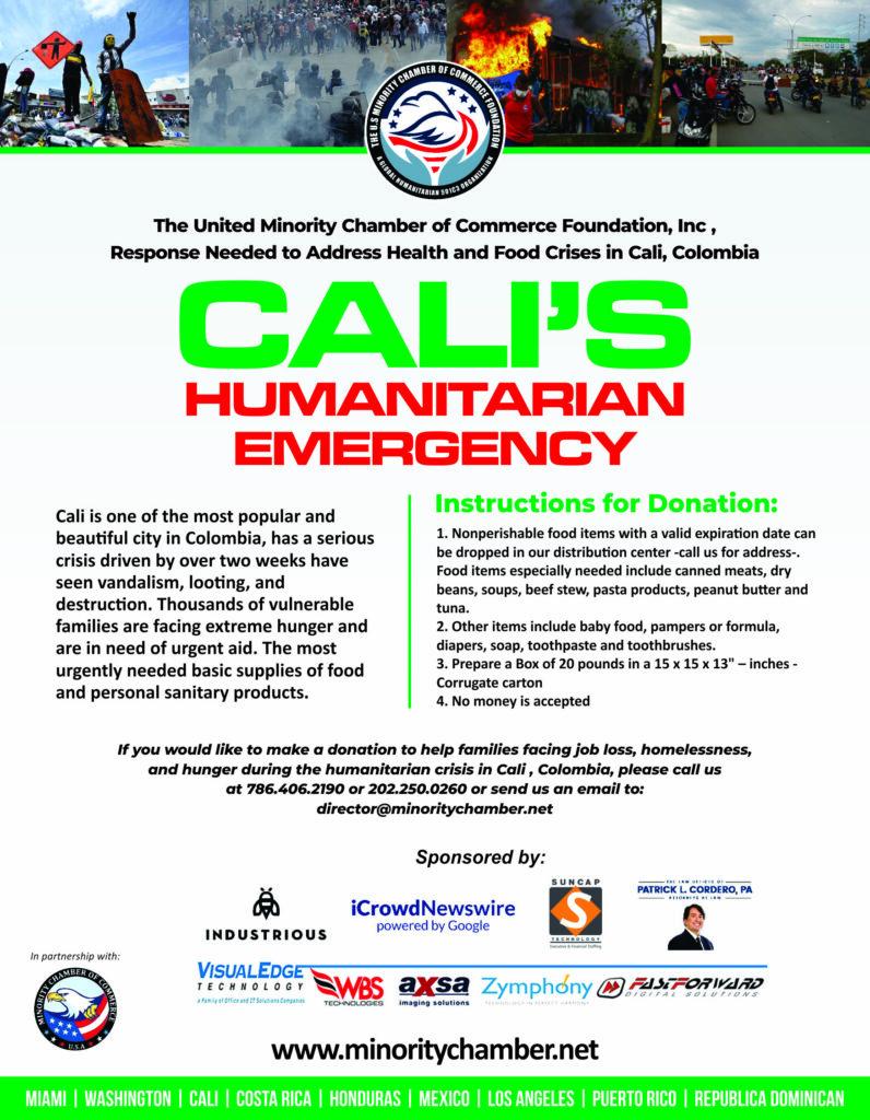CALI HUMANITARIAN EMERGENCY