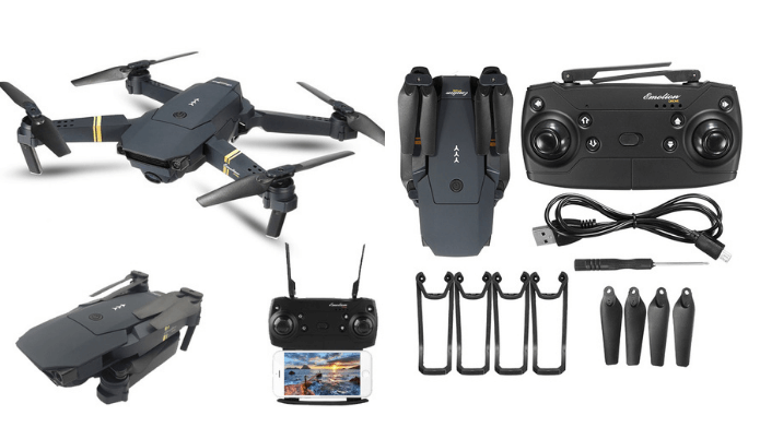 Features of Drone x pro