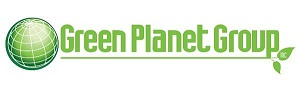 Green Planet Group Green and White Logo 2