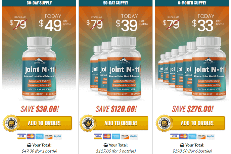 thumbnail Joint N 11 Price