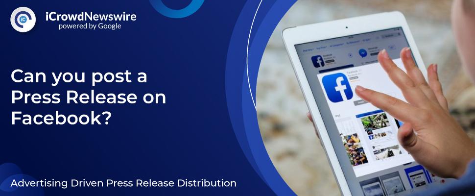 Press Release on Facebook
