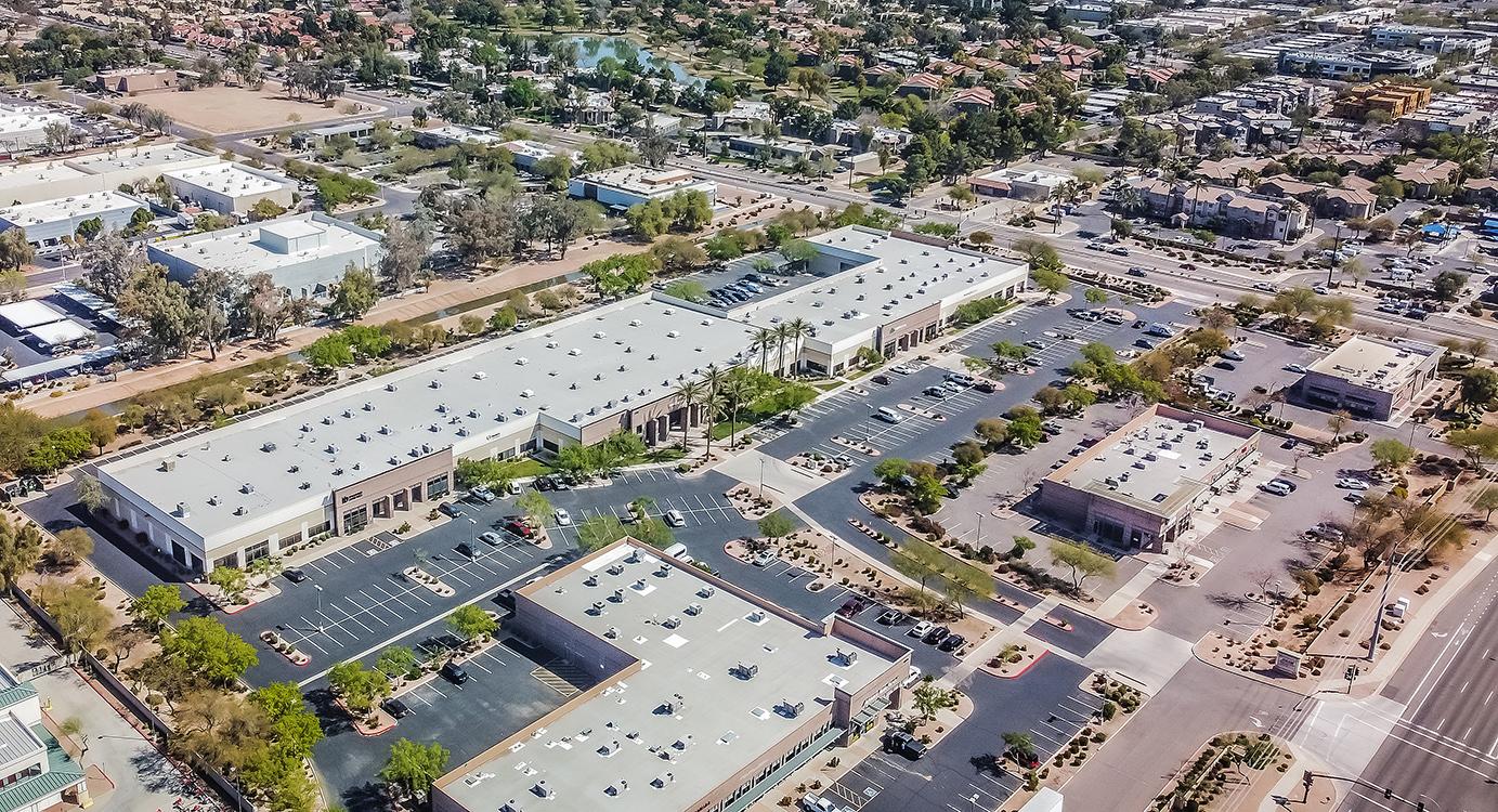 Chandler Business Center Aerial 6150 W Chandler Blvd