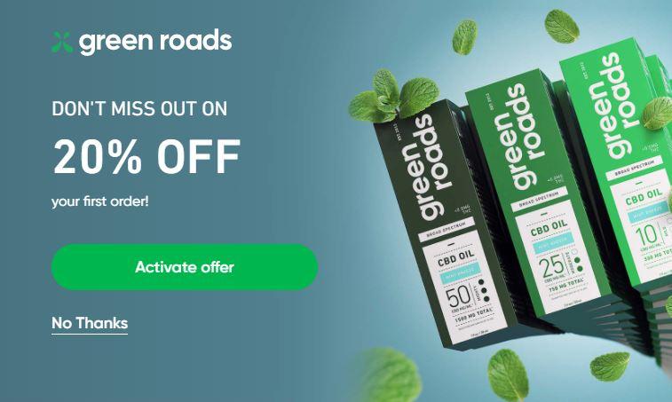 Green Roads Discount 2