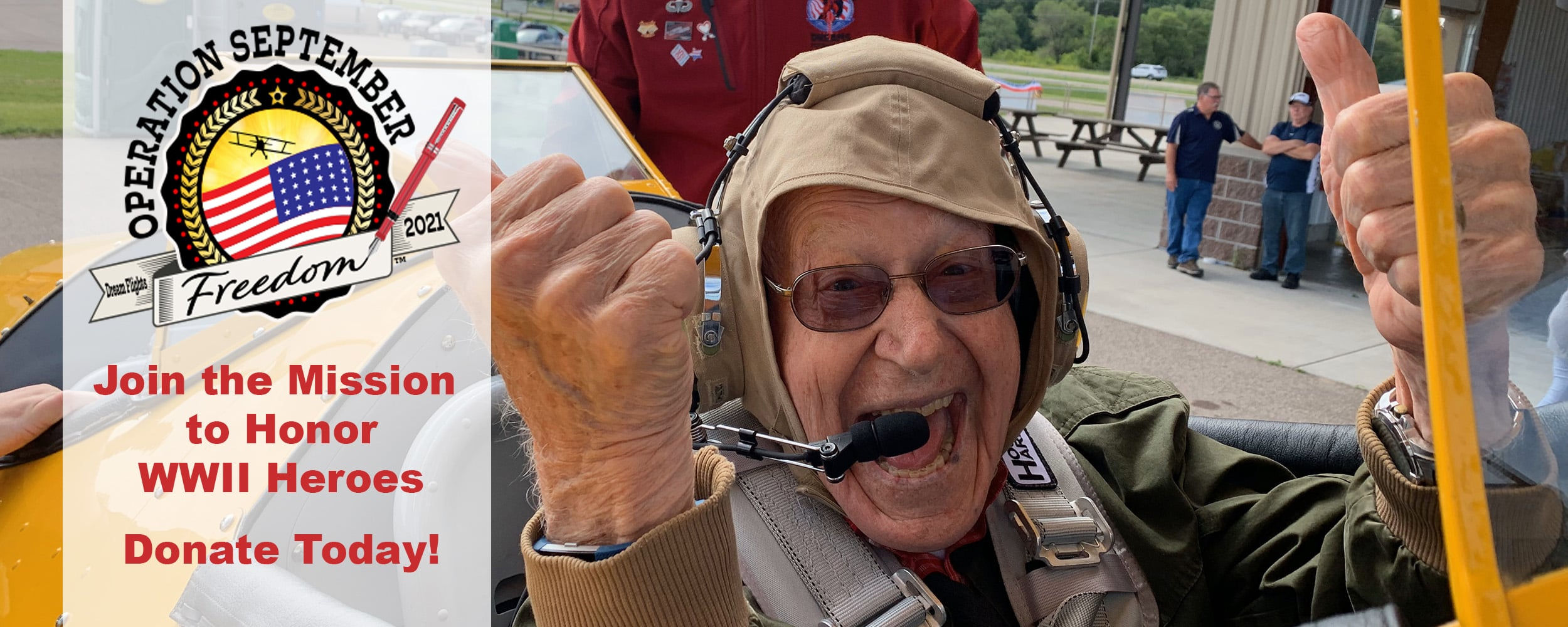 Smiling Veteran with Thumbs Up in Cockpit web 1